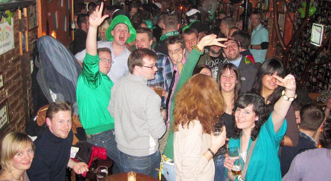 St Patrick's Day at The Irish House
